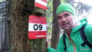 Salzsteigweg-Selfie: Start eines neuen Projekts