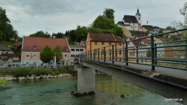 Steinbach an der Steyr - Ich starte dort, wo ich das letzte Mal aufgehört habe