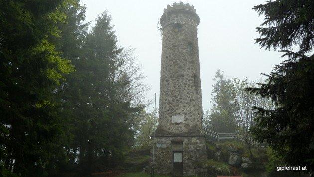 Die Aussichtswarte am 1125m hohen Sternstein