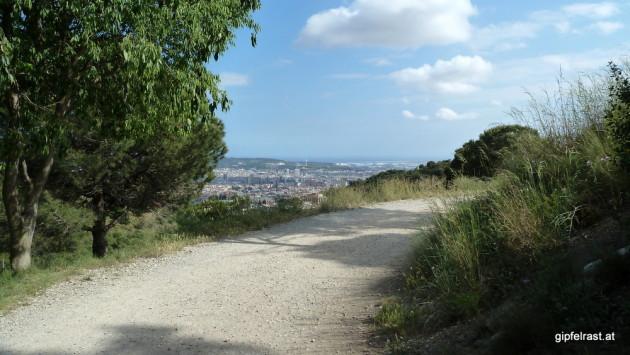 Ausblicke auf Barcelona