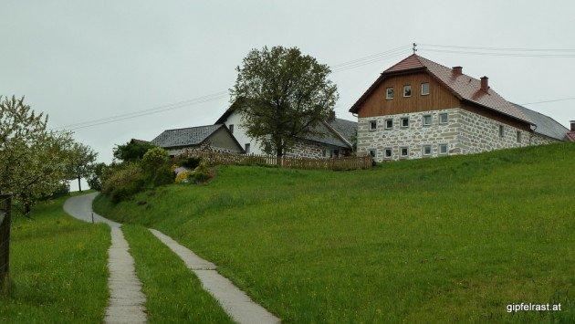 Die typischen Bauernhäuser im nördlichen Mühlviertel