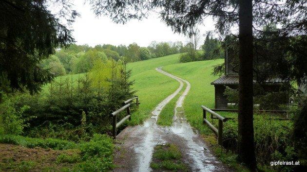 Hinauf nach Oberneukirchen