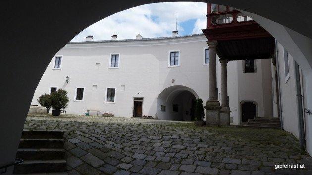 Meine Karte führt mich in die Irre - und ins Schloss Ebelsberg
