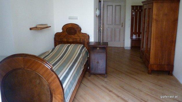 Zimmer im Gästehaus des Stifts