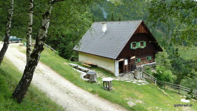 Ausgangspunkt: Almhütte Plotschenbauer