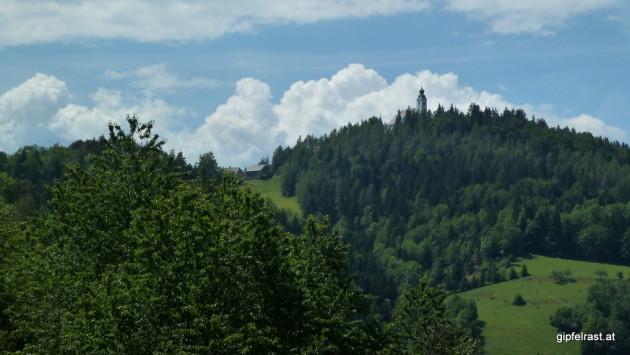Blick zur Kirche Sveti Duh