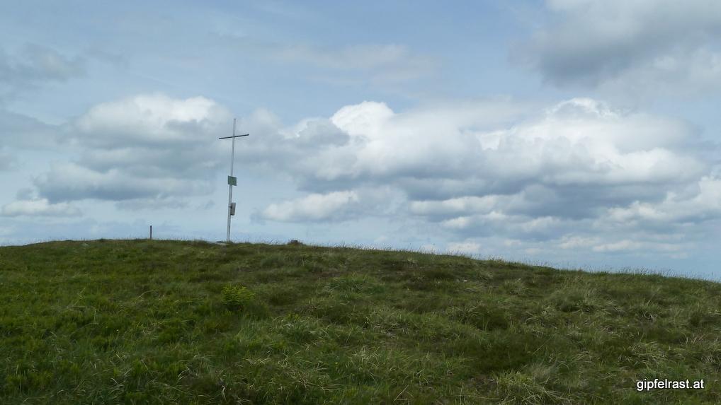 Der Gipfel der Fensteralm (1642m)