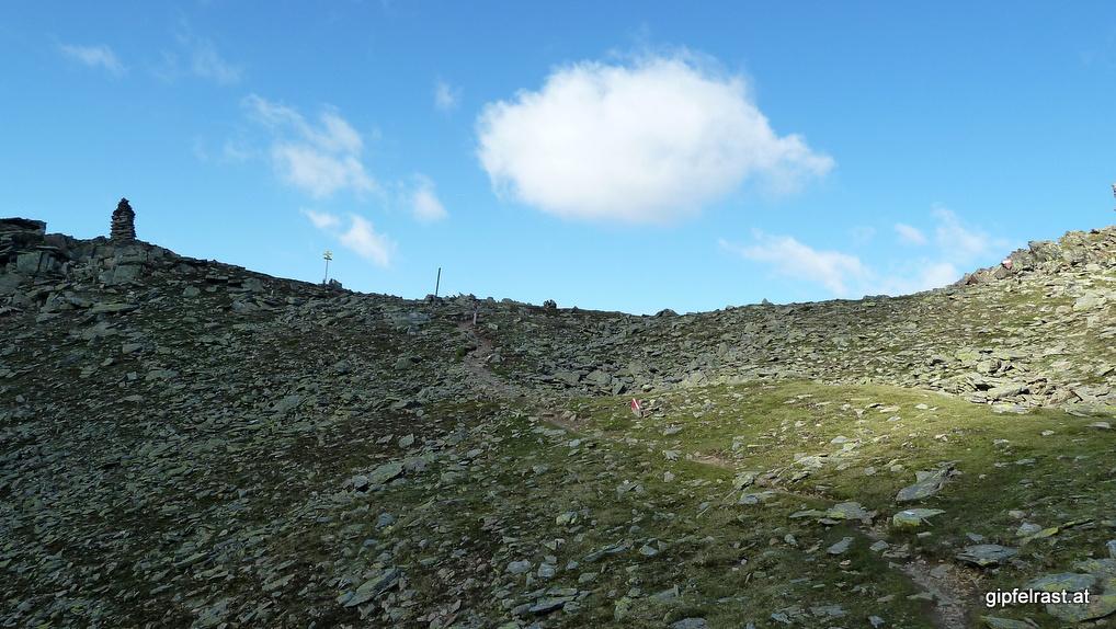 Das Satteljoch (2735m)