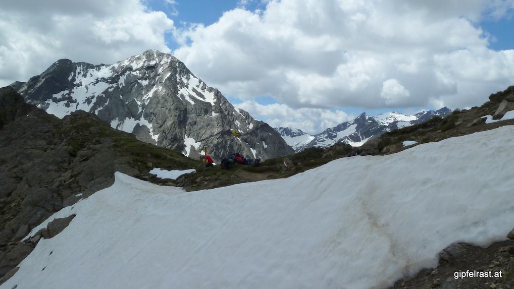 Am Gleirschjöchl (2751m)
