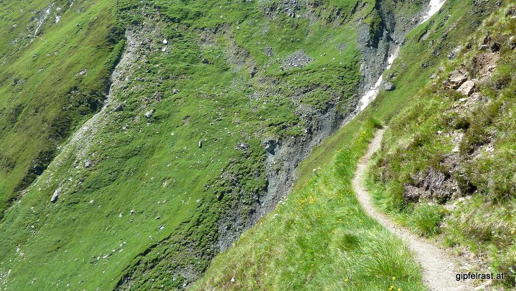 Steile Hänge