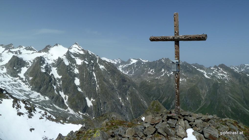 Gipfelkreuz am Schafgrübler