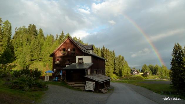 Startpunkt: Die Murauer Hütte