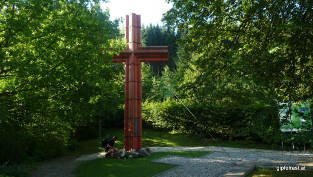 Das ehemalige Gipfelkreuz vom Großen Priel