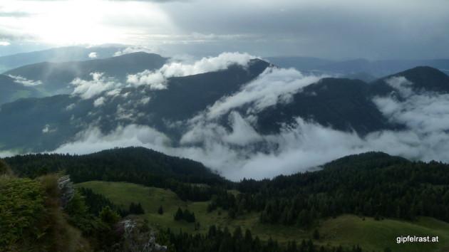 Blick nach Kärnten: Hier wettert es noch