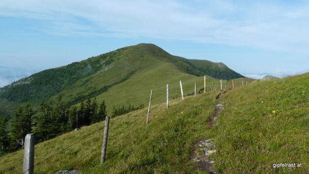 Auf dem Weg zum Rossbachkogel