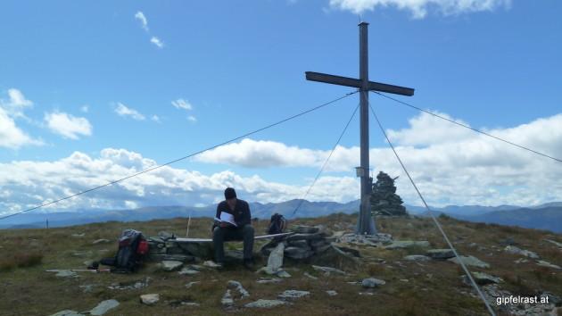 Am Gipfel der Prankerhöhe