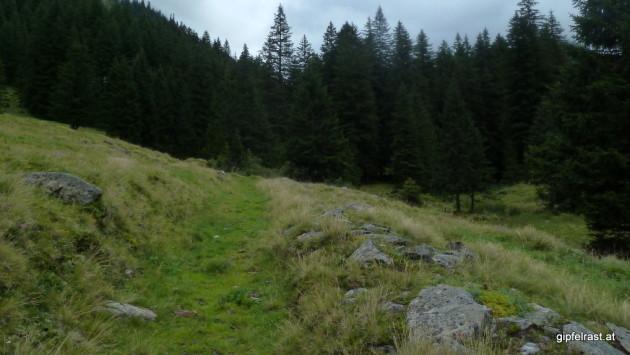 Der Römerweg zur Erzherzog-Johann-Hütte