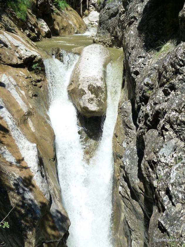 Wasserfall in der Wörschachklamm