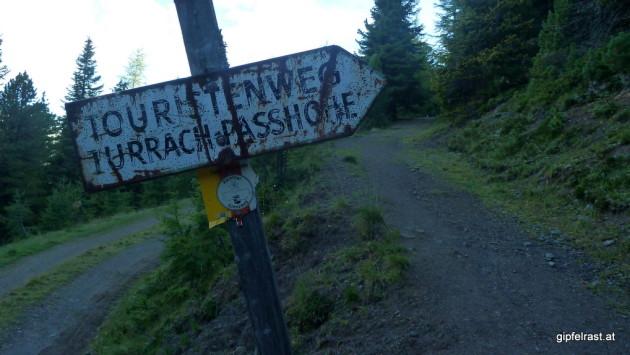 "Am ""Touristenweg"""