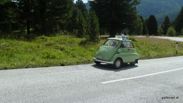 Eine BMW Isetta sieht man auch nicht mehr oft