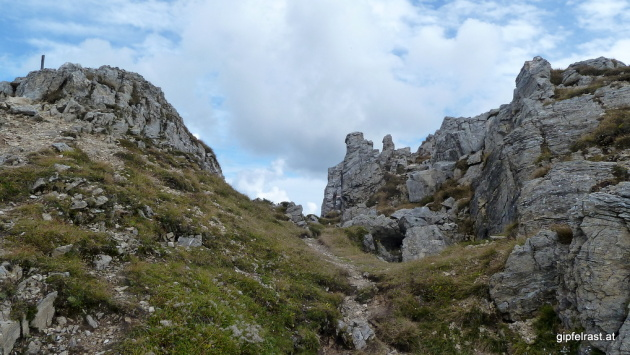 Gipfelbereich der Kaiserburg