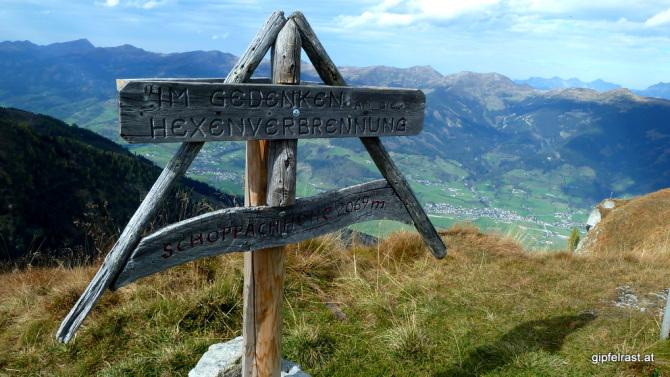 Gipfelkreuz einmal anders