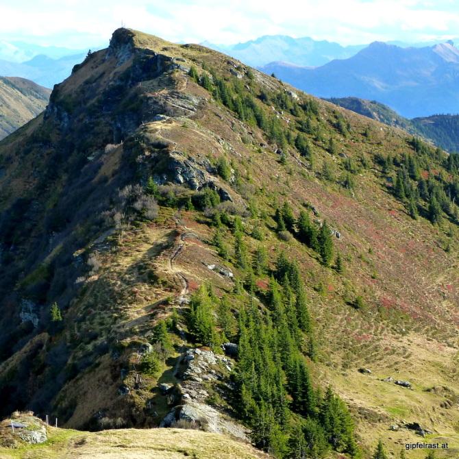 Der Aufstieg zum Schönwieskopf