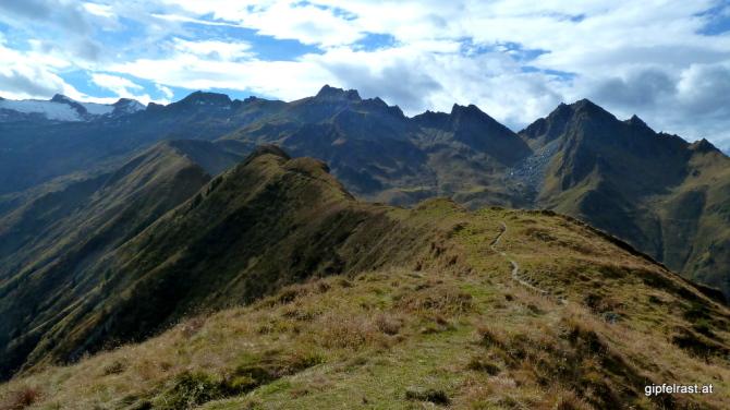 Der weitere Weg zum Kitzsteinhorn