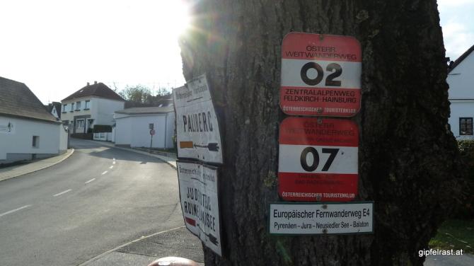 02er und 07er im Paarlauf im Paarlauf durchs Burgenland