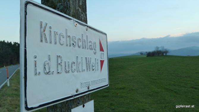 Wohl auch ein eher selten begangener Abschnitt im österreichischen Weitwanderwegenetz...