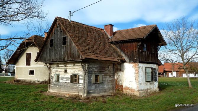 Altes Bauernhaus in Söding