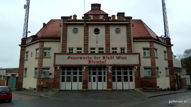 Etappenende und -beginn: Die Feuerwache Steinhof