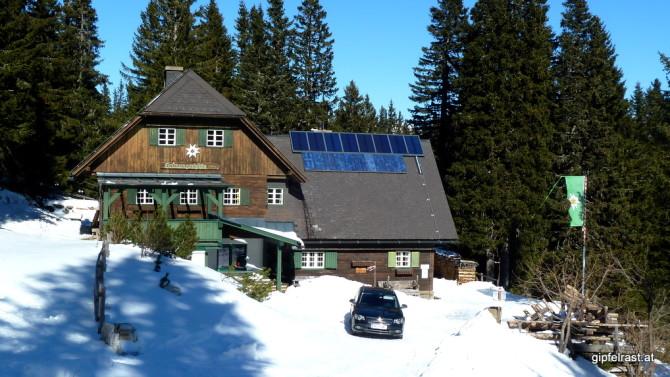 Die - heute geschlossene - Grünangerhütte