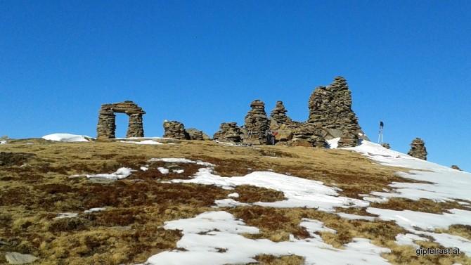 Unser Pausenplatz: Die Steinmandln