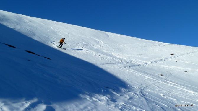 Abfahrt zur Bärentalhütte