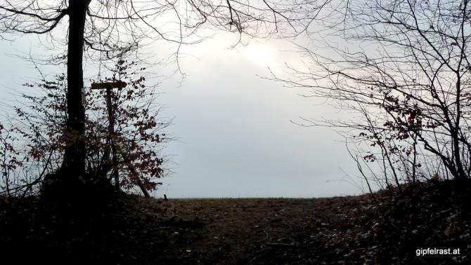 Aufstieg im Morgengrauen