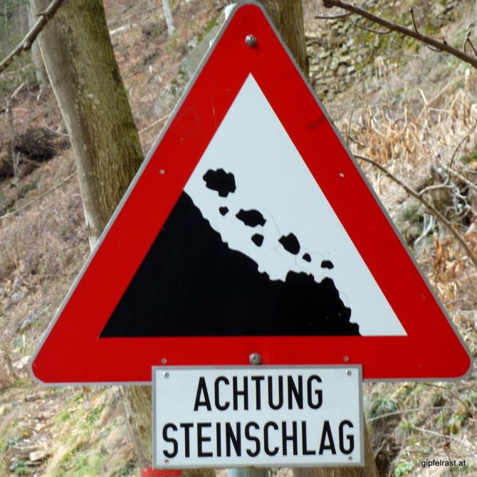 Vorsicht! Schwebende Steine!