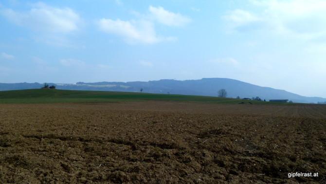Morgen mein erstes Ziel: Der Haunsberg