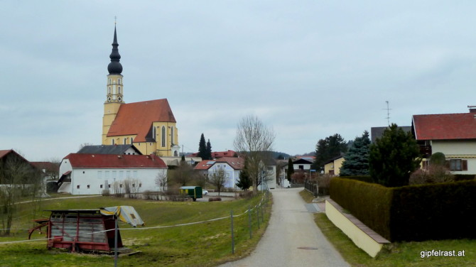 Einmarsch in Eggelsberg