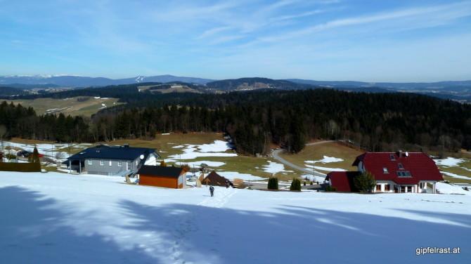 Aufstieg zum Ameisberg