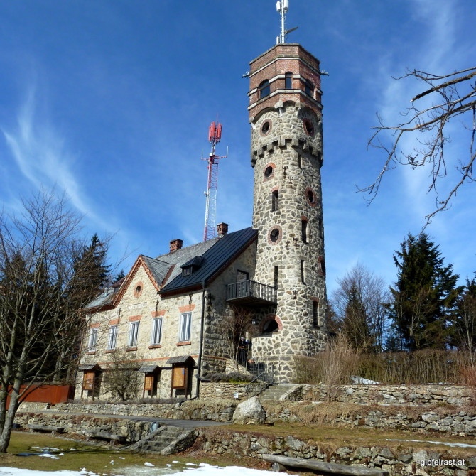 Der Aussichtsturm am Ameisberg