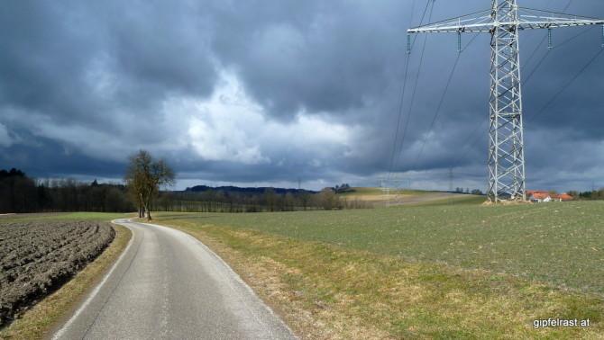 Dunkle Wolken und Sonnenschein!