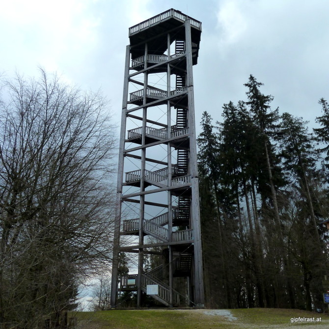 Der Aussichtsturm bei Haag/Hausruck