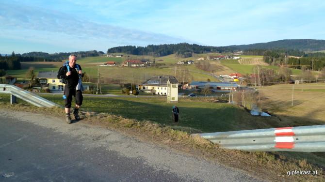 Am Weg hinauf nach Altenhof