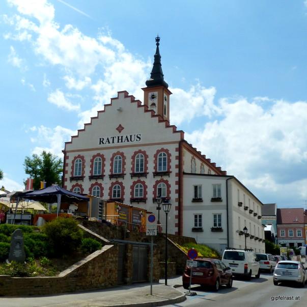 Am Hauptplatz von Waidhofen an der Thaya