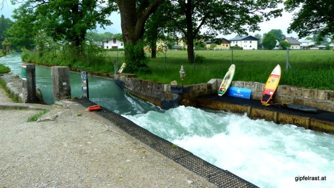 Surfen im Almkanal?