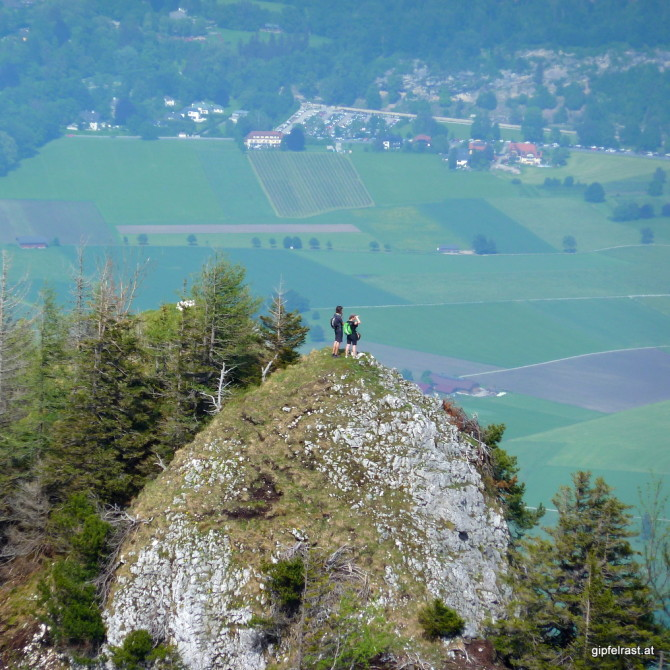 Zwei Gipfelraster am Bierfasslkopf