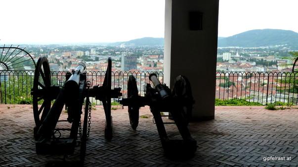 Na bumm! Die Kanonenbastei zeugt von weniger friedlichen Zeiten