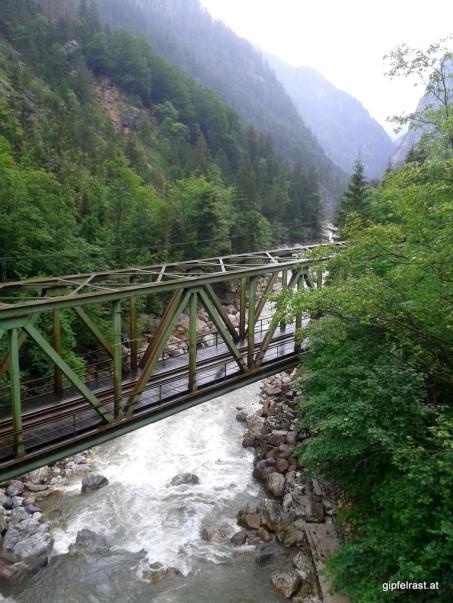 Blick von der Kummerbrücke