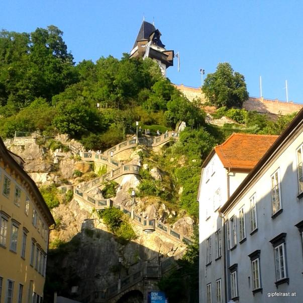 Hinauf auf den Schlossberg